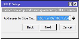 Konfiguracja serwera DHCP dla sieci lokalnej