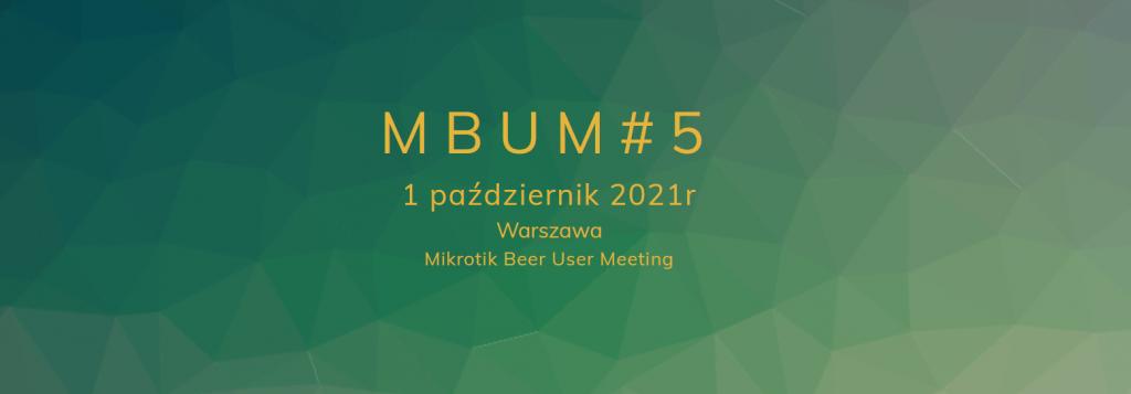 mbum#5 1/10/2021 Warszawa