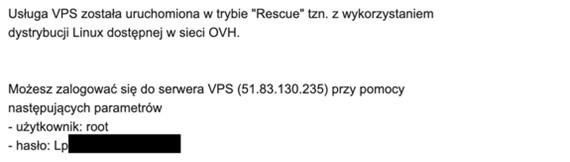 okno - uruchomienie trybu rescue